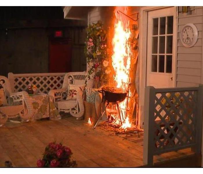 Fire Damage Summer Grilling Fire Safety Tips
